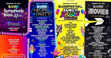 Back to the 80's & 90's Festival 2020 (Line UP)